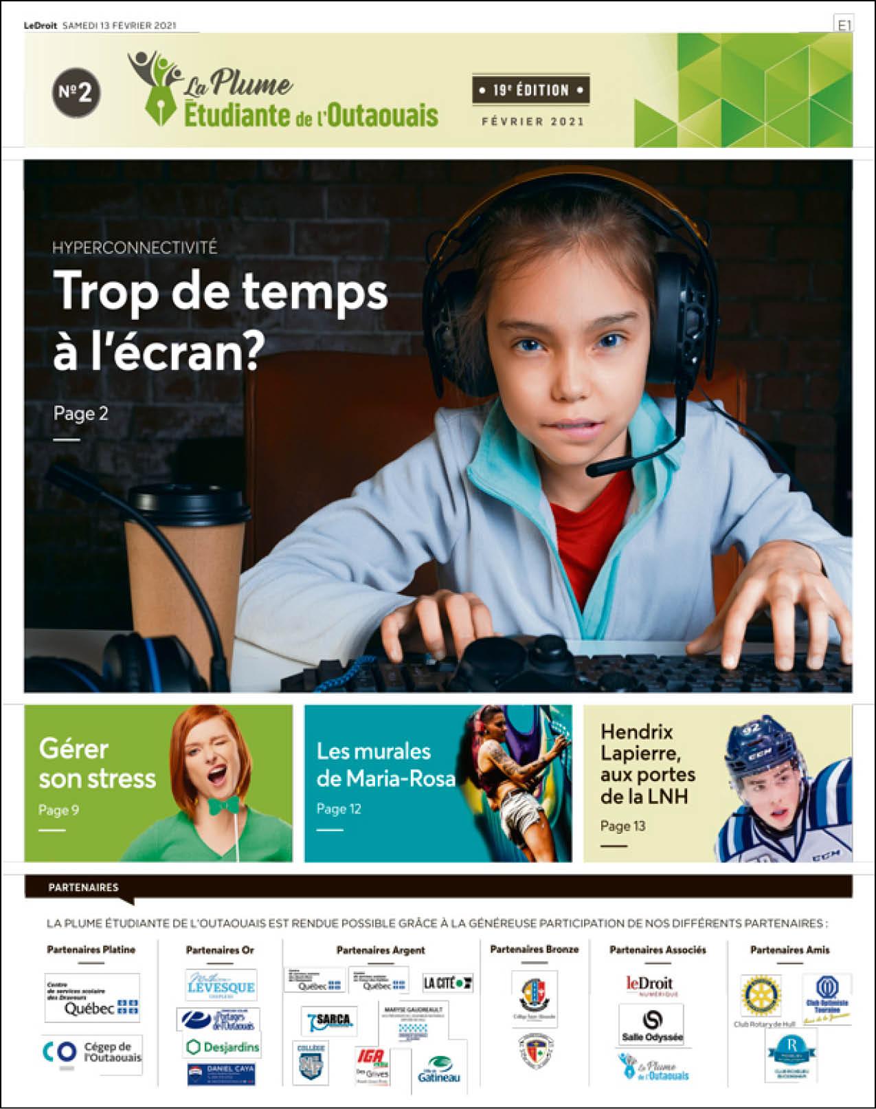 Cover LaPlumeEtudiante