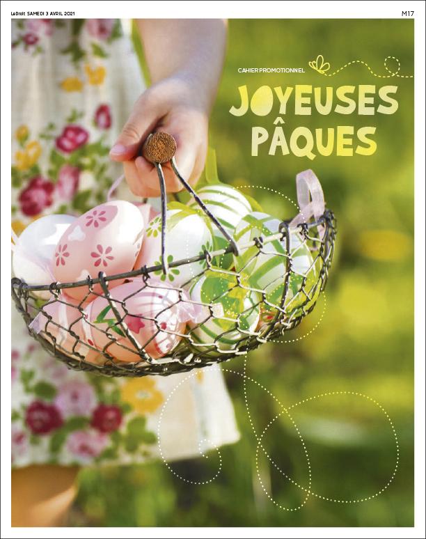 Cover Joyeuses Pâques