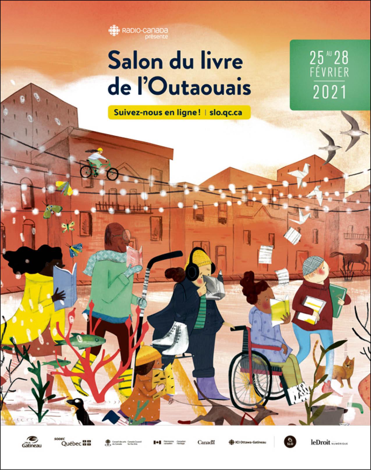 Cover Salon du Livre de l'Outaouais
