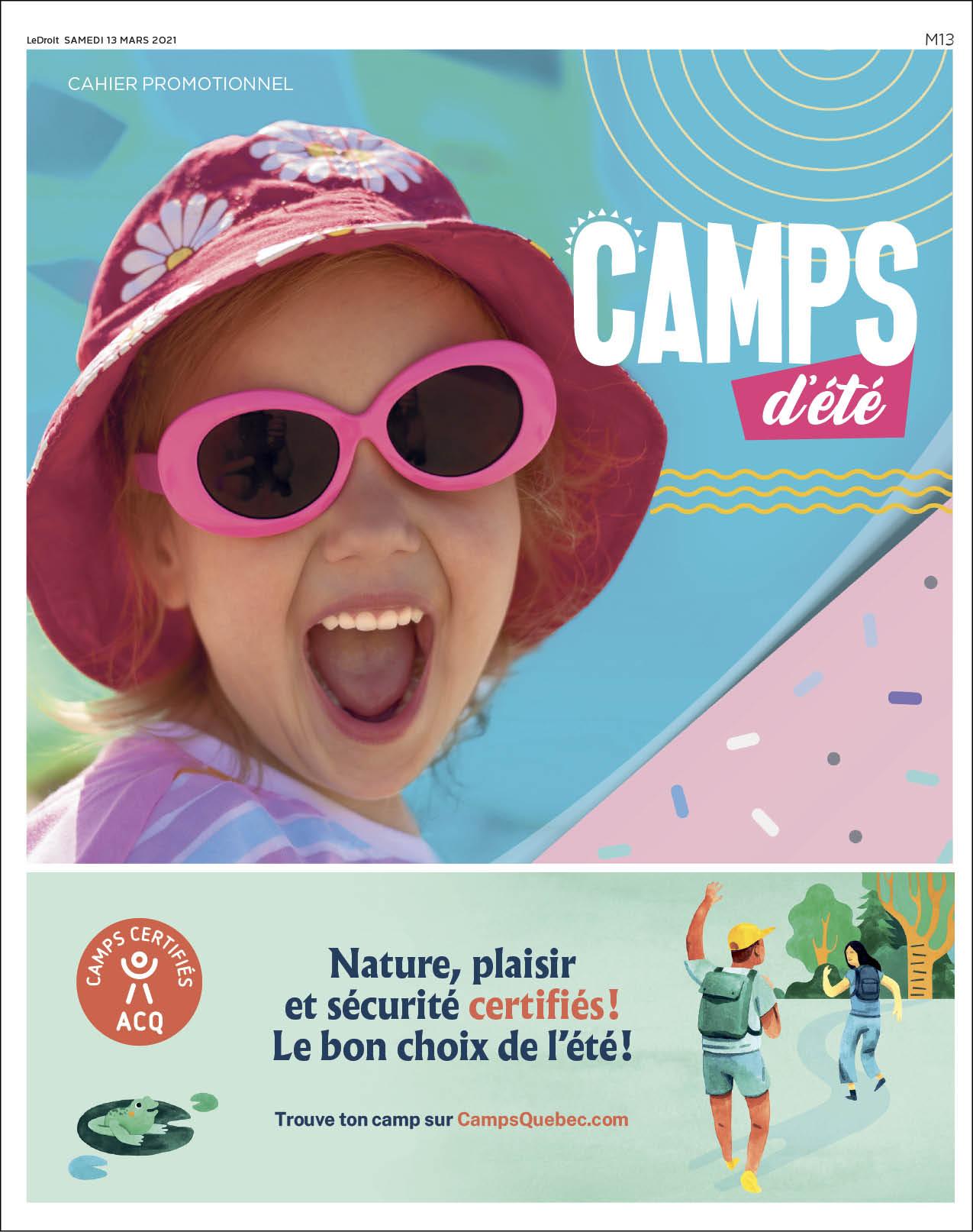 Cover Camps d'été